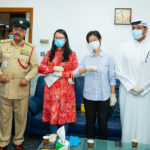 Al Fonoon Group donates 100,000 surgical face masks to Dubai Police