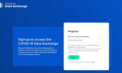 Dawex announces COVID-19 Exchange to allow sharing and tracking of data