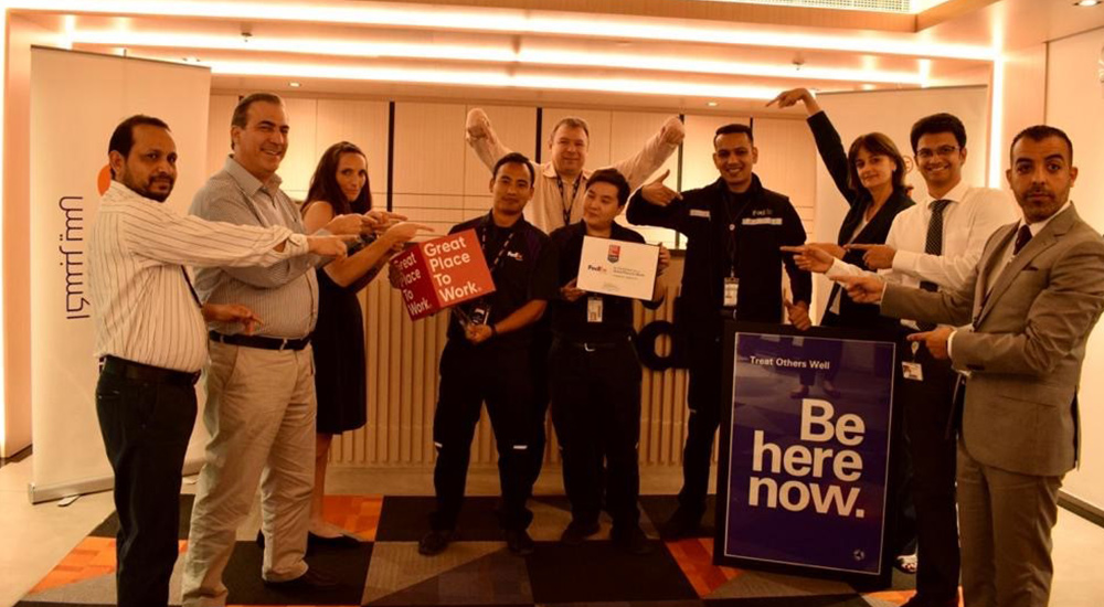 FedEx Express on list of UAE's Best Workplaces.