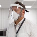 Jaguar Land Rover starts production of NHS-approved protective visors.