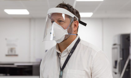 Jaguar uses most advanced 3D printing in Europe for NHS protective visors