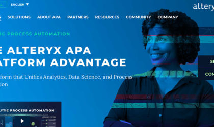 Alteryx unifies analytics, data science, business process automation in one platform
