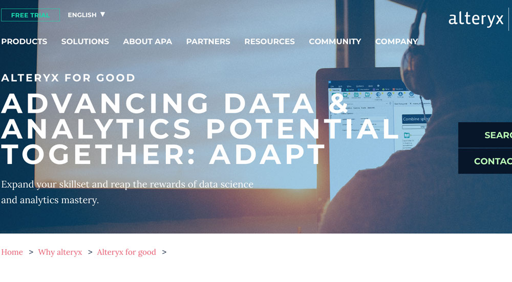 Alteryx offers free data training to upskill unemployed workers