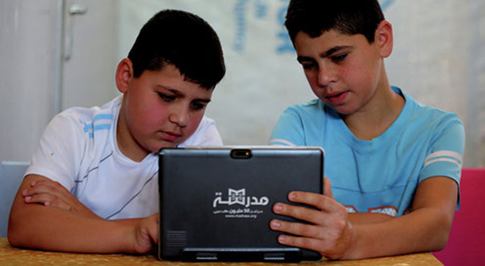 Madrasa delivers high-tech education to Jordan's refugee camps