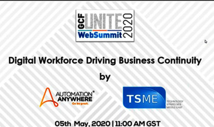 Global CIO Forum, Automation Anywhere, TSME roll out websummit