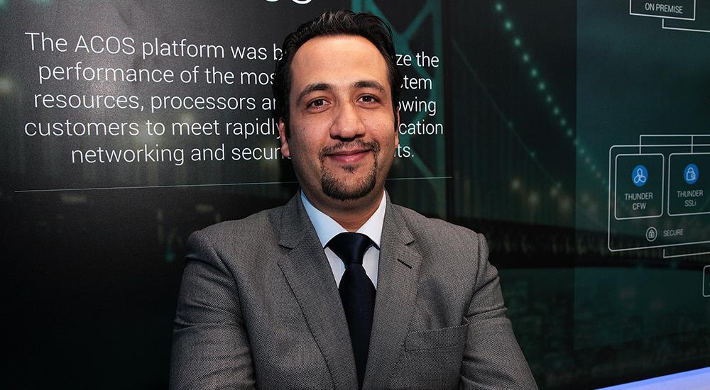 Mohammed Al-Moneer, Vice President of Sales MENA, A10 Networks.