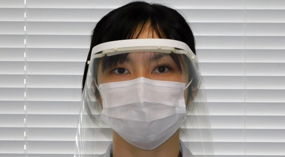 Nissan began making protective face shields for health care workers in Japan