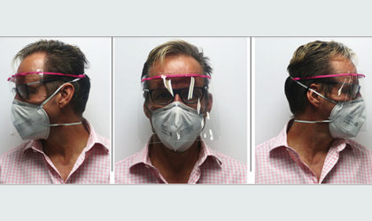 Dubai based Precise manufactures face shields using 3D printing