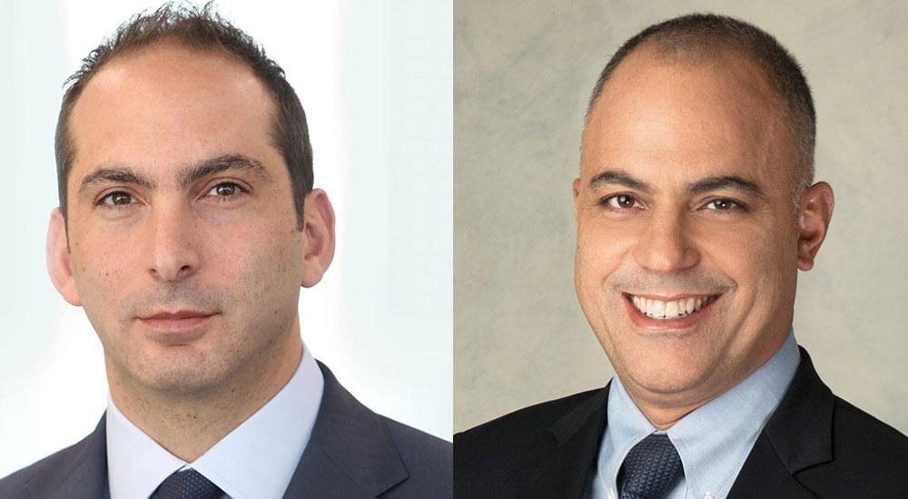 (left to right) Ziad Nasrallah, Principal at Booz Allen Hamilton and Souheil Moukaddem, Executive Vice President at Booz Allen Hamilton.