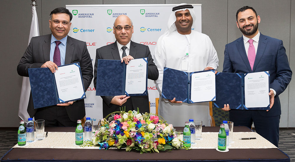 American Hospital Dubai selects Oracle, Cerner for new EHR and ERP platforms