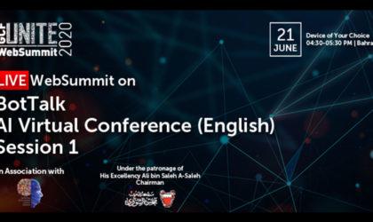 Global CIO Forum, Bahrain's AI Society host BotTalk on AI and Covid-19