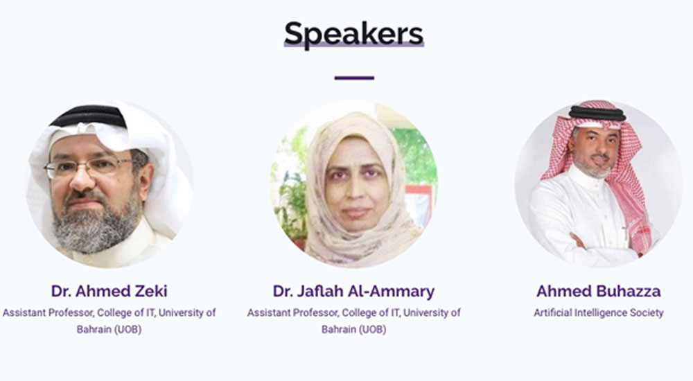 The speakers for BotTalk AI Virtual Conference, Arabic, Session 2.