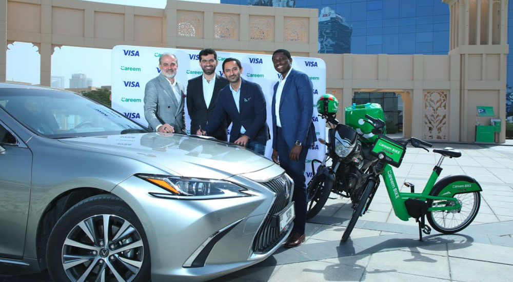 Careem partners with Visa to pay its drivers in real-time