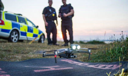 Drone Rescue Map shows 400 people helped by drones in 200 emergencies