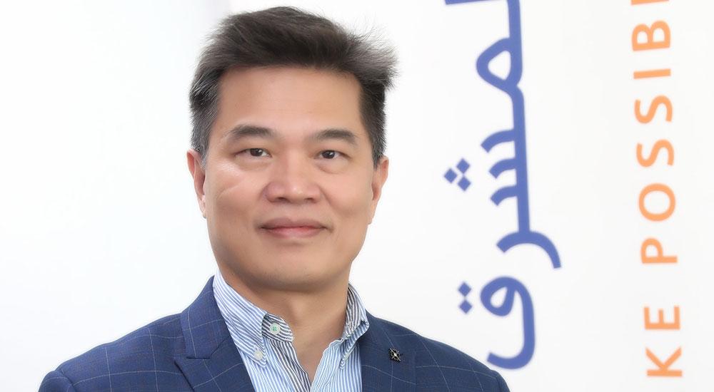 Ellis Wang, Group Head of Technology, Transformation and Information at Mashreq.