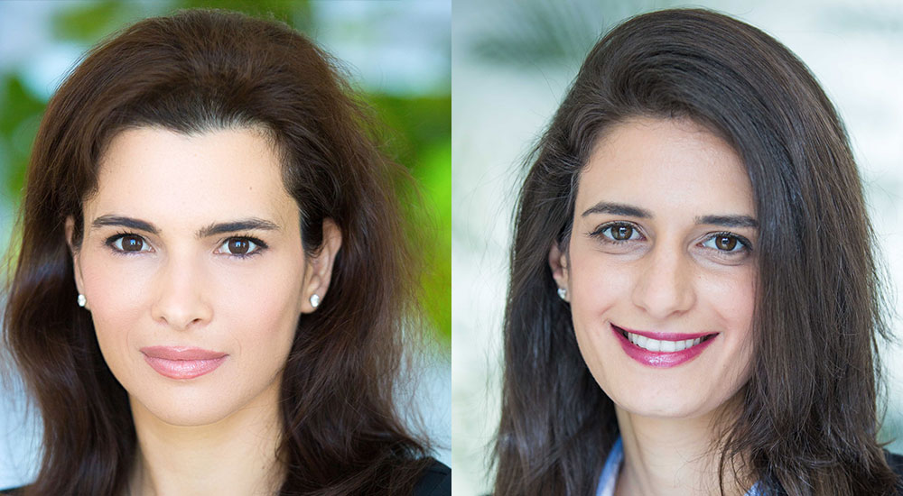Dr Leila Hoteit, Managing Director and Senior Partner, Boston Consulting Group and Maya El Hachem, Managing Director and Partner, Boston Consulting Group.