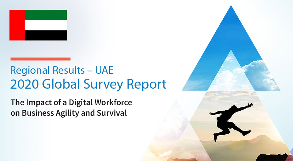 Blue Prism survey titled The Impact of a Digital Workforce on Business Agility and Survival