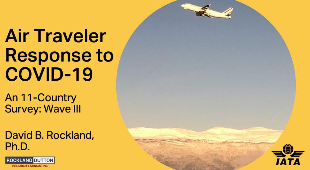 IATA traveler survey reveals Covid-19 concerns.