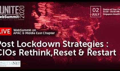 Global CIO Forum, RosettaNet host WebSummit on post-lockdown strategies