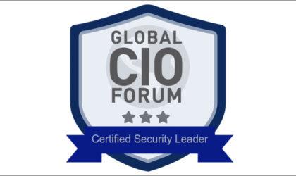 Global CIO Forum awards Blockchain verified certificates to security leaders