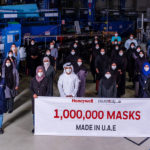 Honeywell and Strata reach milestone of 1m N95 masks made for UAE health workers