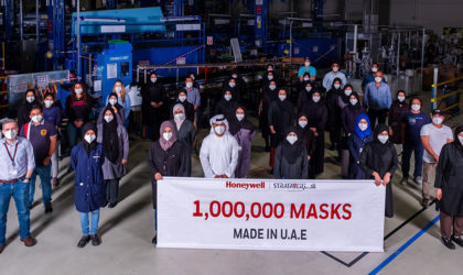 Honeywell, Strata reach 1M landmark for N95 masks manufactured in UAE