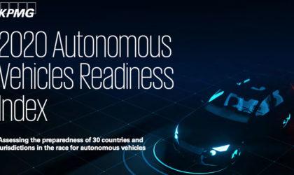 KPMG ranks UAE #8 in Autonomous Vehicles Readiness Index 2020
