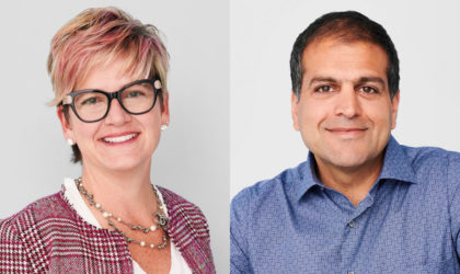 Three waves of disruption to the traditional workplace say Pat Wadors, Chris Bedi