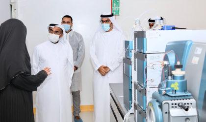UAE's Minister of Climate Change visits Al Dhara RAK to explore livestock re-export