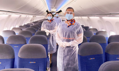 flydubai using RFIDAeroTrack software to track and clean aircraft seat covers