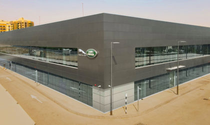 Jaguar Land Rover completes 14,000 sqm HQ at DSO with training, testing centres