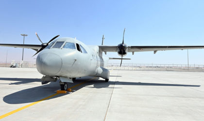 Al Ain based AMMROC delivers first C-130 aircraft after Programmed Depot Maintenance