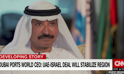 UAE-Israel deal will stabilise region says DP World CEO in CNN interview
