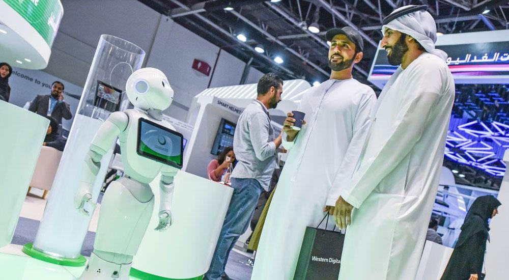 DEWA deploys Pepper robots.