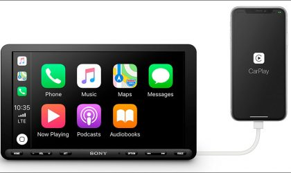 Sony introduces 9″ XAV series car audio and display systems for UAE roads