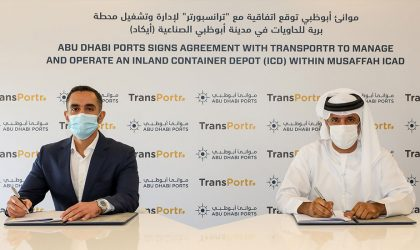 Abu Dhabi Ports to manage Transportr's inland container depot in Musaffah