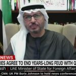 UAE Minister of State for Foreign Affairs, Anwar Gargash