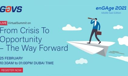 GCF to host GAVS annual client event, enGAge 2021 on February 25