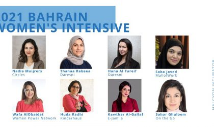 US-based Halcyon selects women startup founders from Bahrain for AWS training