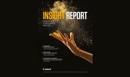 Canon research reveals less than 20% print service providers meeting customer needs