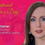 Andrea Carter, Regional Director, Marketing NEMEA, Sophos.