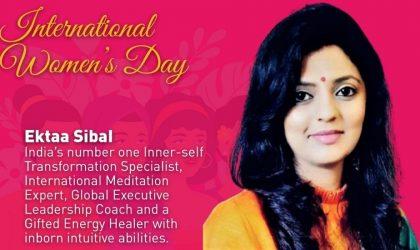 International Meditation Expert Ektaa Sibal shares her success story