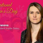 Katya Ivanova, Vice President Inside Sales, Acronis.