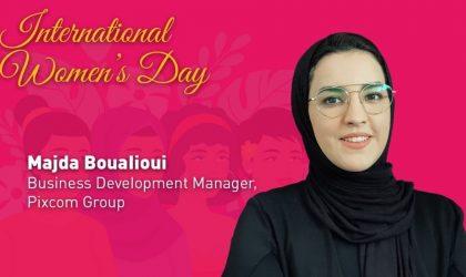 Majda Boualioui of Pixcom Group talks about empowering women to tackle economic challenges