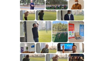 Top CIOs from UAE attend golf and Yoga session organised by GCF Reboot