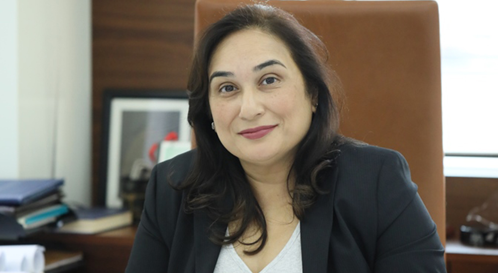 Zanubia Shams, Co-Chairperson, Zulekha Healthcare Group.