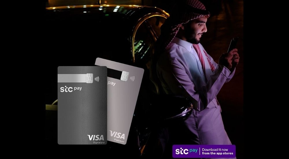 Contactless payment cards by stc pay and Thales.