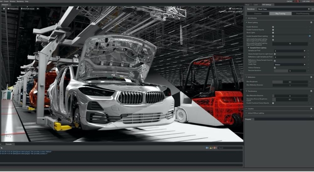 BMW and NVIDIA use Omniverse platform and AI to build virtual factory plant