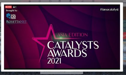 Global CIO Forum, RosettaNet Singapore GS1 announce winners of Catalyst Asia Awards 2021