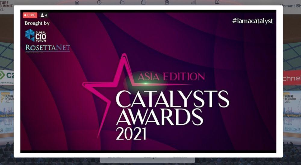 GCF and RosettaNet Singapore GS1 host Catalyst Asia Awards 2021.